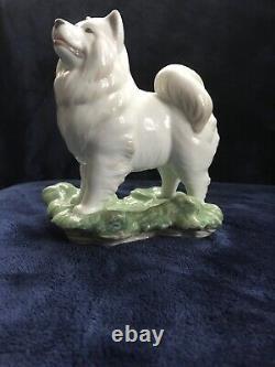 Lladro Samoyed figurine -rare collectors item