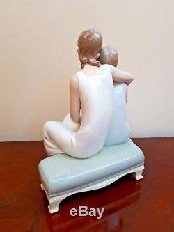 Lladro Spain Fine Large Porcelain Figurine My Sister My Friend 01006901 BOXED