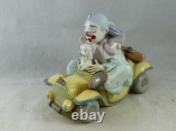 Lladro Trip To The Circus Clown Figurine 01008136 Boxed Privelege Members Piece
