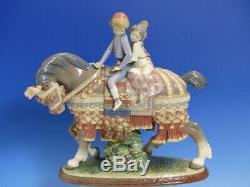 Lladro Valencian Children. 1489. Children On Horseback