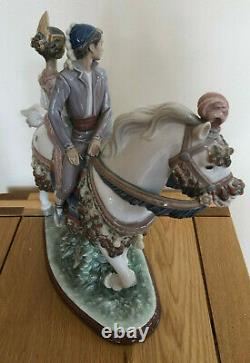 Lladro Valencian Couple on Horse. 1472. Limited edition. With box