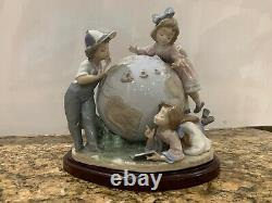 Lladro Voyage of Columbus Figurine Limited Edition