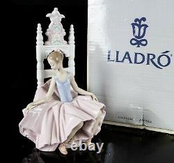 Lladro -after The Show- 1998-2000 Girl Ballerina Dancer Figure Model 6484, Boxed