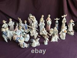 Lladro figurine collection for sale