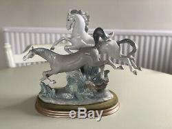 Lladro horses galloping 4655