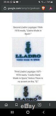 Lladro limited edition 1971 1974 The Third Lladro edition 4840