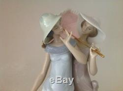 Lladro umbrella charming Duet. 5766