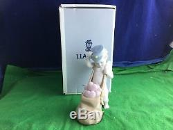 Lovely Very Rare Lladro''Love Letters'' Porcelain Figurine No 06830 USC RD8630