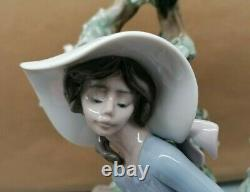 Lovely Very Rare Lladro Sunday In The Park Porcelain Figurine No 5365 SU207