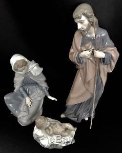 Mint in BoxesLladro Nao Holy Family St. Joseph, St. Mary, JesusNativity Set