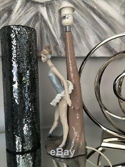 NAO By LLADRO, Beautiful Ballet Lamp 00085 Stunning Large Ballerina Lamp & Shade