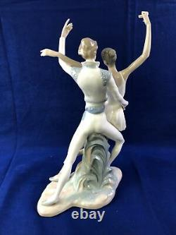 NAO By Lladro Finale Ballerina Couple large f8