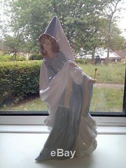NAO Lladro 1364 Enchanted Dreams 14 inch A Glossy Fairy of Dreams figurine VGC