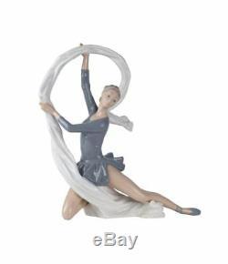 Nao 2000185 Dancer With Veil Womens Handmade Elegant Porcelain Figure Figurine