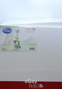 Nao By Lladro Porcelain Disney Figurine Peter Pan 02001835
