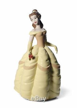 Nao Disney Belle Figurine NEW in Gift Box Beauty and the Beast
