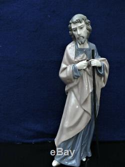 Nao LLadro Nativity Mary Joseph and Baby Jesus Figurines Beautiful Cond