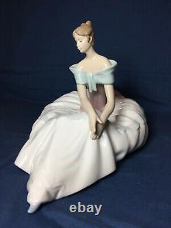 Nao Lladro Large Ballerina Figurine Hope No 1266 Mint Condition