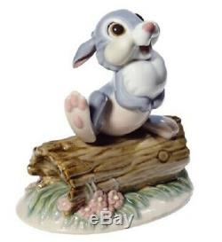 Nao Porcelain By Lladro Figurine Disney Thumper 02001711