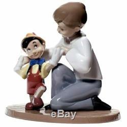 Nao Porcelain Disney Pinocchio's First Steps