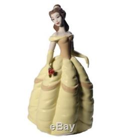 Nao by Lladro Porcelain Disney Belle Beauty and Beast Figurine 26cm 02001708