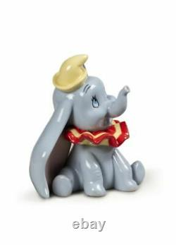 New Disney Lladro Porcelain Figurine Dumbo Was £415.00 Now £352.50