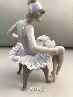 Rare Lladro 5499 Pretty Ballerina Retired Boxed
