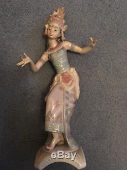 Rare Lladro Bali Dancer Girl Figurine 6143
