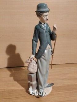 Rare Lladro Charlie the Tramp Charlie Chaplin figure/ figurine with Cane #5233