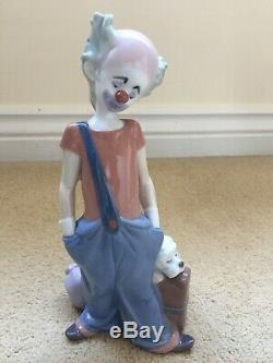 Rare Lladro Clown Figurine Destination Big Top Ref 6245 1996 Event Piece