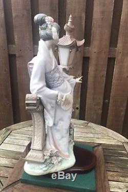Rare Lladro Figure Mariko Gheisha Girl 1421
