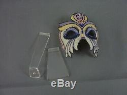 Rare Lladro Fire Dancer Mask Ref No 1640 1989-1991