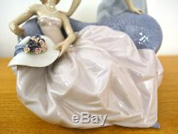 Rare Retired Lladro 5486 Debutantes Large Figurine Vintage Collectable