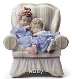 SALE Lladro Porcelain MY TWO LITTLE TREASURES 010.08717 Worldwide Shipping