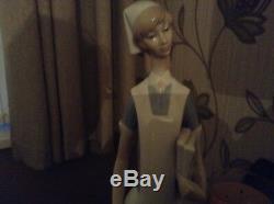 SALE Lladro Porcelain NURSE 1977