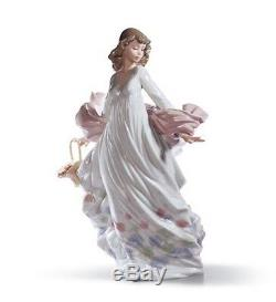 SALE Lladro Porcelain SPRING SPLENDOR 010.05898 Worldwide Shipping