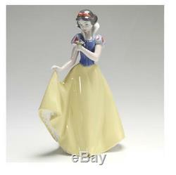 Snow White Nao by Lladro Disney Princess Porcelain Collectible Figurine