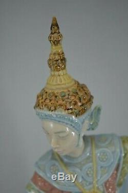 Stunning Lladro Figurine Siamese Dancer Ref. 5593
