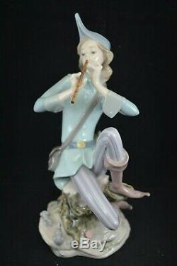 Stunning Lladro Privilege Gold Figurine Pied Piper Of Hamelin Ref. 8425