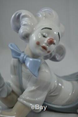 Superb Lladro Clown Figure Magic Of Comedy Ref 6913