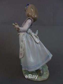Superb Lladro Figurine Alice In Wonderland Ref. 5740