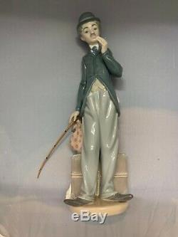 Superb Lladro Figurine Charlie The Tramp