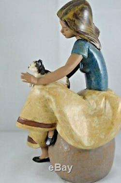 Superb Lladro Gres Figurine Repose Ref. 2169