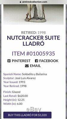 Very Rare Mint Lladro Nutcracker Suite