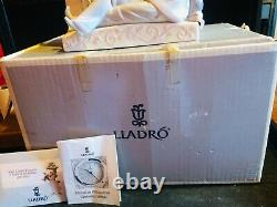 Vincente Martinez For Lladro Pierrot Mantle Clock 5778(retired 2001)boxed/papers