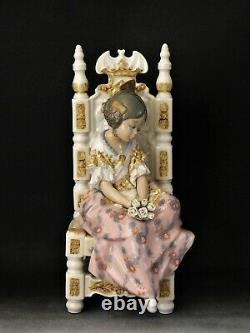 Vintage Lladro Figurine Second Thoughts 1397 Free Uk Postage