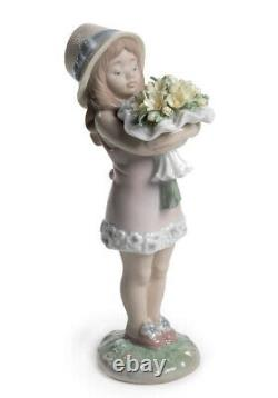 You deserve the best lladro girl figurine